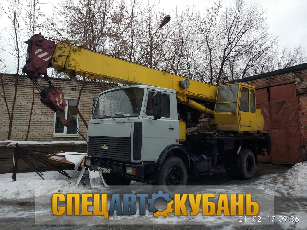 """КС-3577 """"ИВАНОВЕЦ"""" НА БАЗЕ МАЗ-5337"""