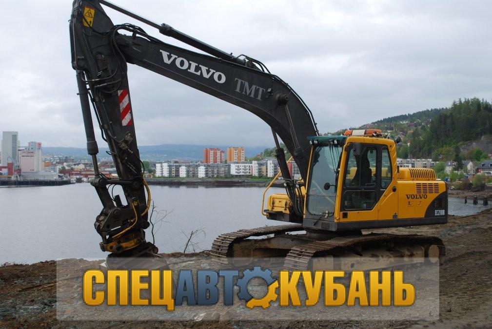 Гусеничный экскаватор VOLVO EC 210