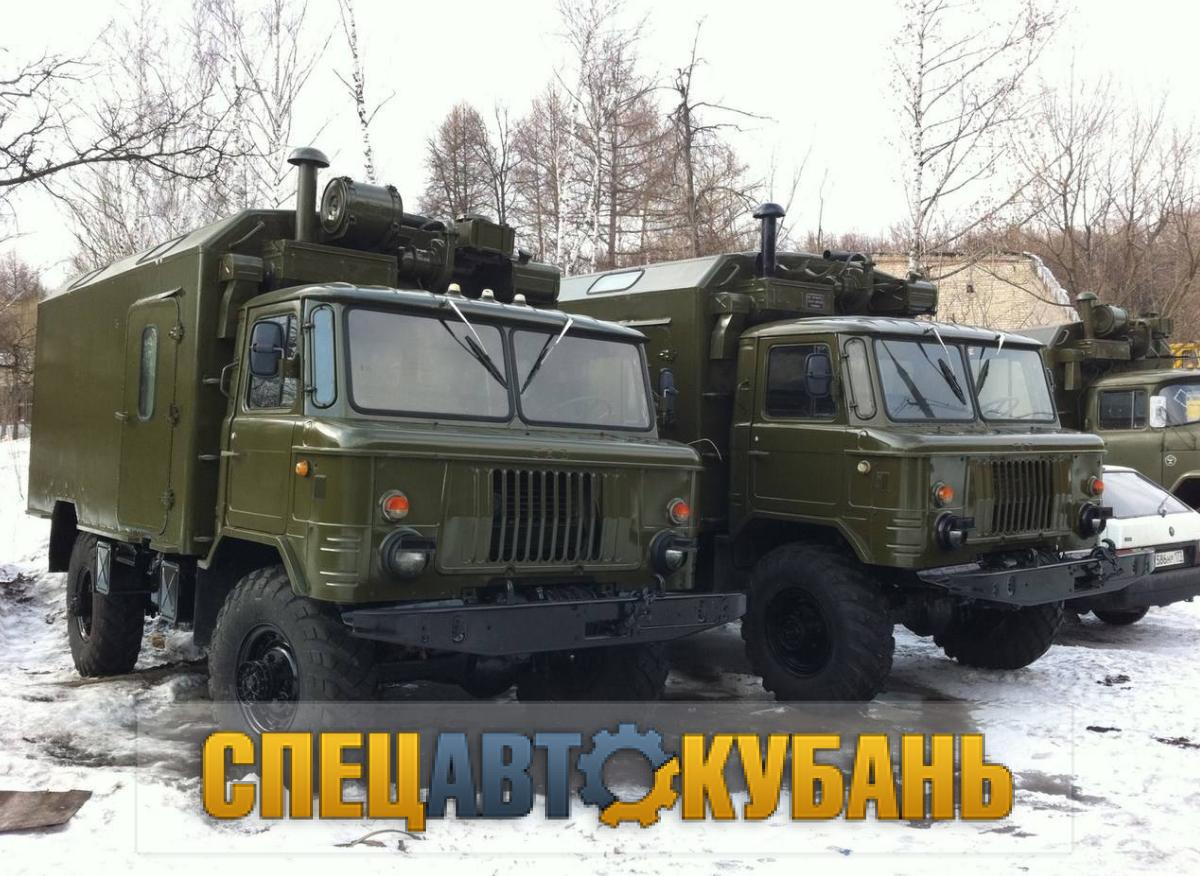 Вахтовка ГАЗ 66