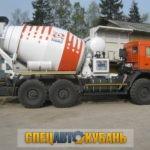 Автобетоносмеситель КАМАЗ 581453