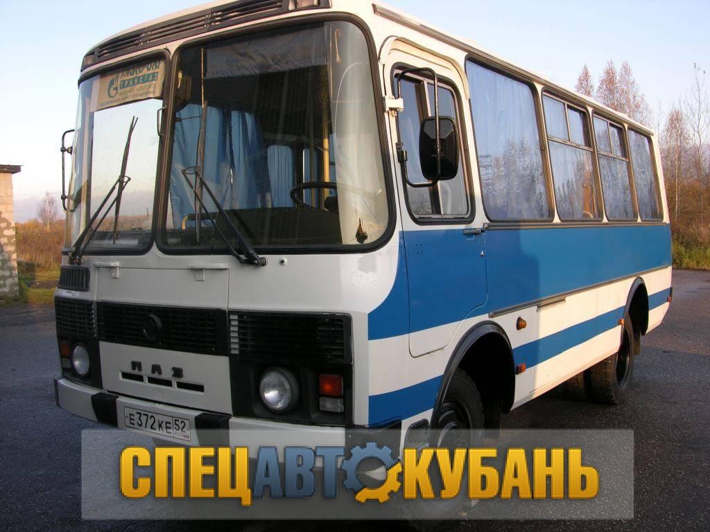 Вахтовый автобус ПАЗ