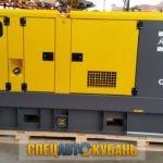 Дизельный генератор 100 кВт Atlas Copco
