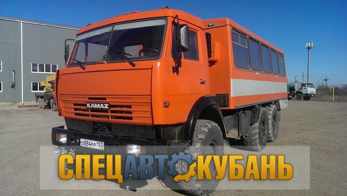 Вахтовка КАМАЗ 4310